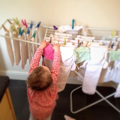 G Doing Washing