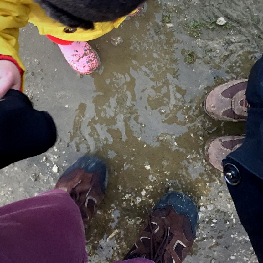 Puddle Feet