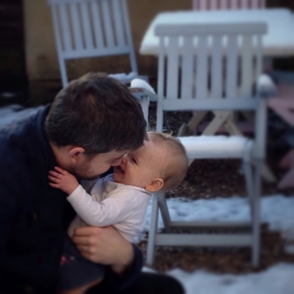 P and G in the Snow_Fotor